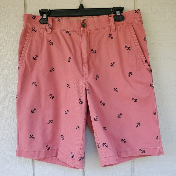 Izod Other - Izod Men's Flat front Salmon Anchor shorts 32